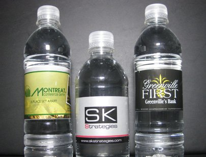 Business Water Bottles For Company Events